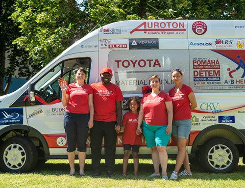 Podpora při nákupu nového minibusu pro Fond ohrožených dětí