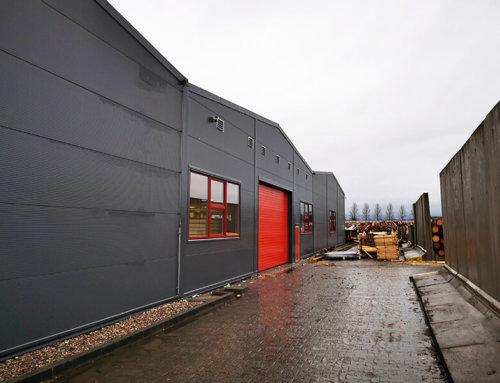 Novou skladovou halu i opláštění a zateplení stávajícího manipulačního prostoru jsme dokončili v únoru