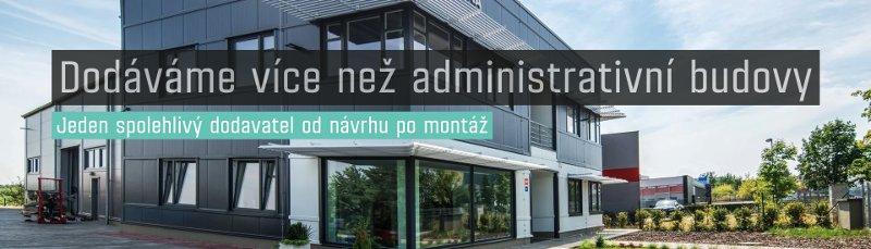 Dodáváme kancelářské a administrativní budovy