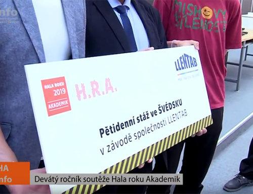 """Letošní ročník oblíbené soutěže """"Hala roku Akademik 2019"""" zná své vítěze"""