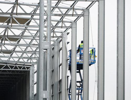 V dubnu jsme zahájili stavbu dalších nových hal