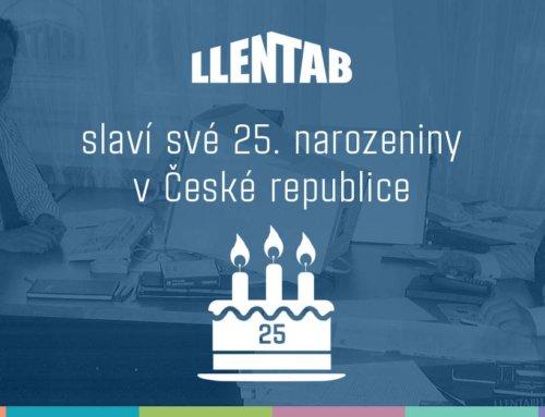 LLENTAB v České republice slaví své 25. narozeniny