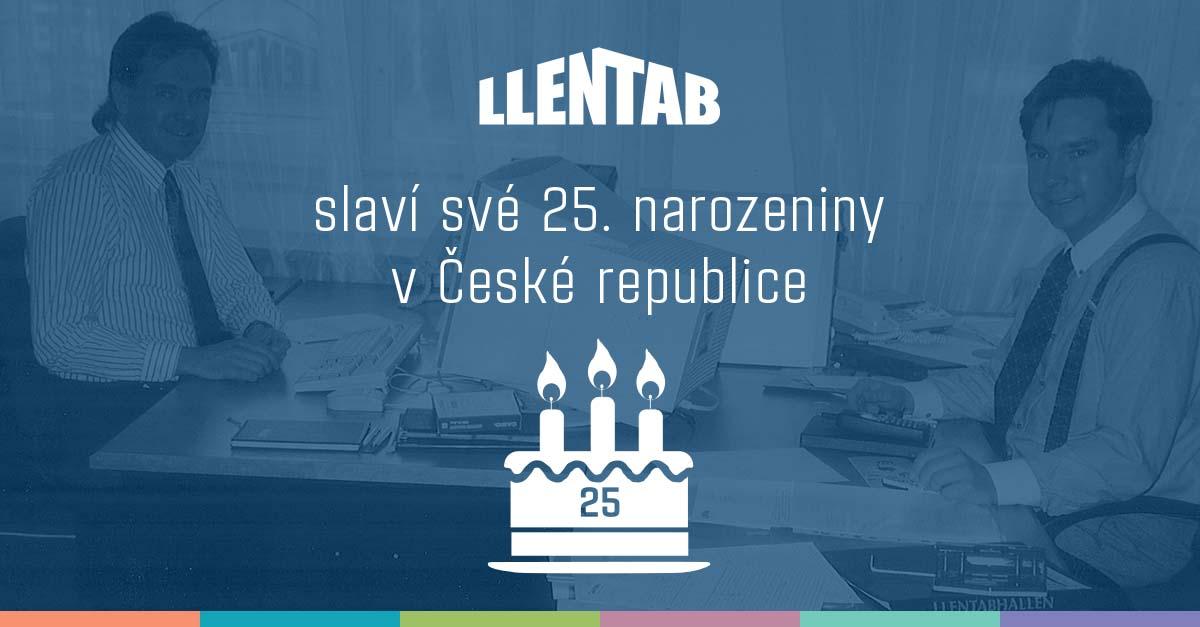 LLENTAB slaví 25 let v ČR