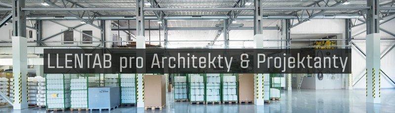 LLENTAB pro architekty a projektanty