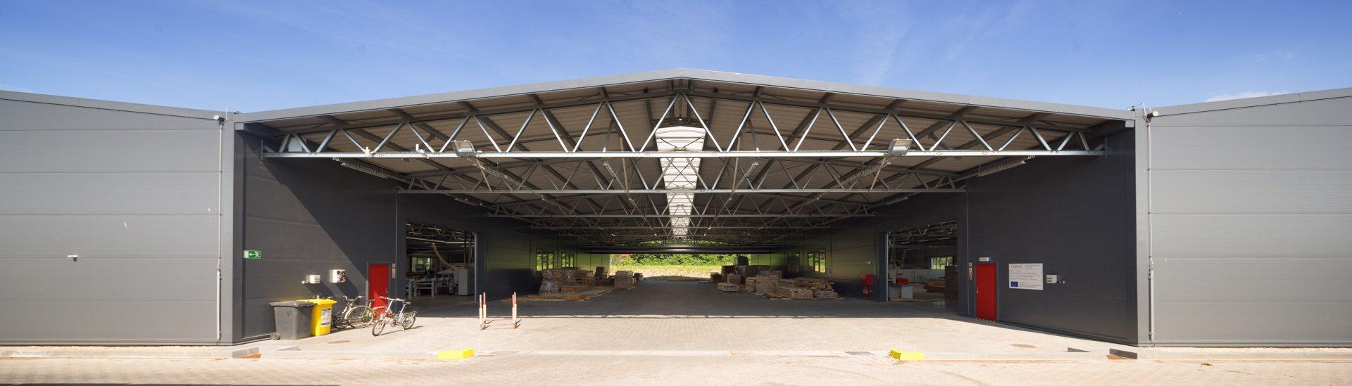 Montované ocelové haly LLENTAB