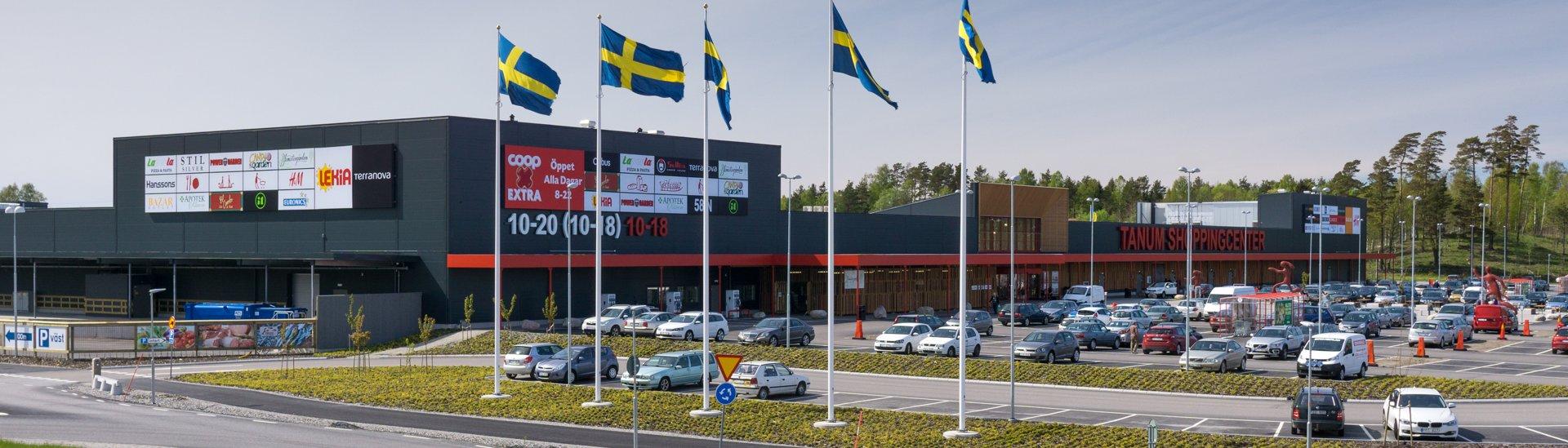 Obchodní centrum v Kungshamnu