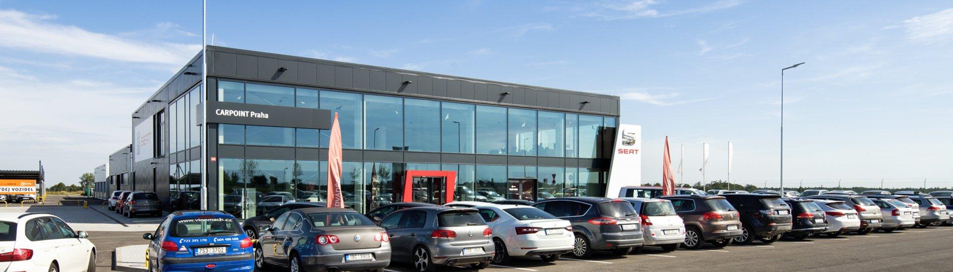 Prodejní prostory aut - Car Point