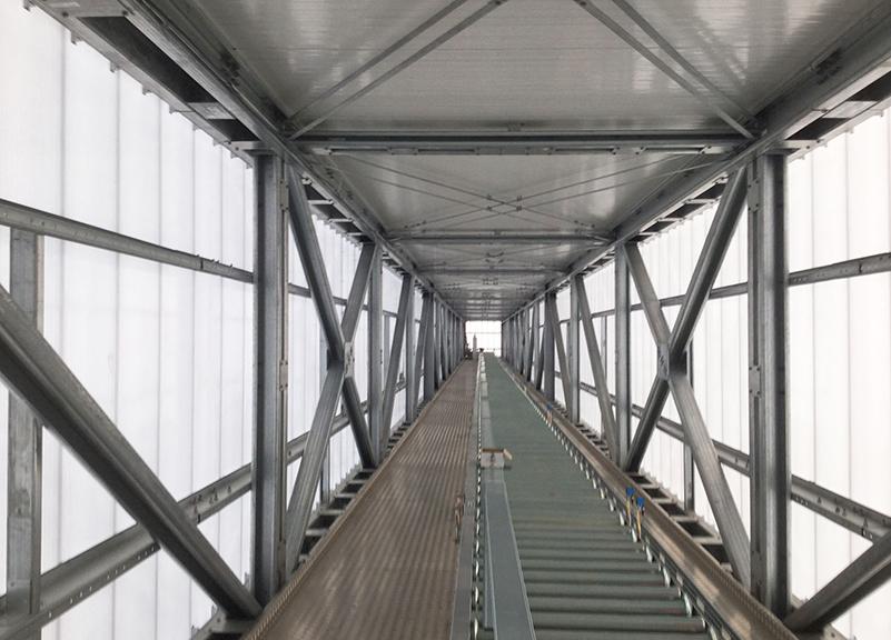 Sekundární konstrukce - technologické mosty