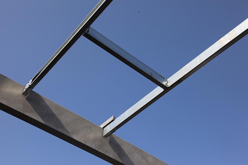 sekundární konstrukce - střecha