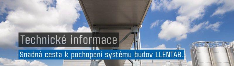 Technické informace k systému budov LLENTAB
