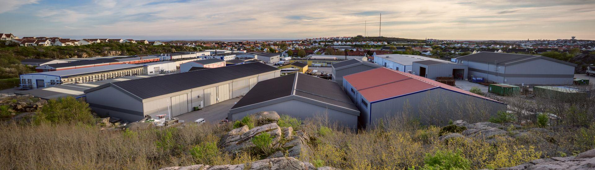 Výrobní závod LLENTAB v Kungshamnu
