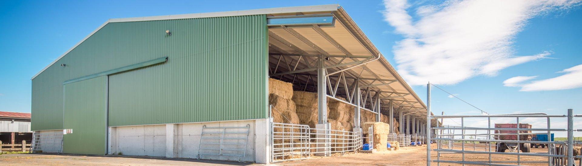 Zemědělská budova CZ0106 farma Unigranit